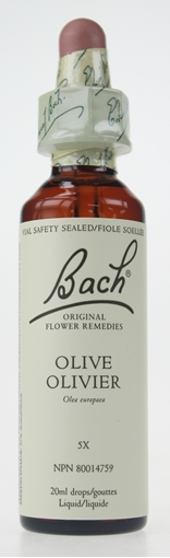 Picture of Bach Bach Olive Flower Remedy, 20ml
