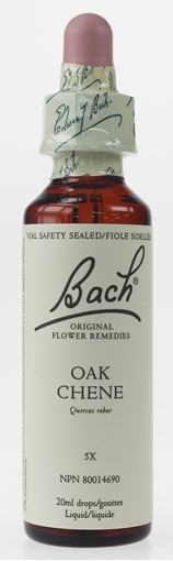 Picture of Bach Bach Oak Flower Remedy, 20ml