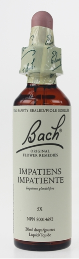 Picture of Bach Bach Impatiens Flower Remedy, 20ml