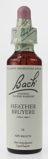 Picture of Bach Bach Heather Flower Remedy, 20ml