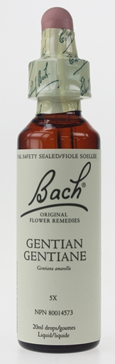 Picture of Bach Bach Gentian Flower Remedy, 20ml