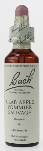 Picture of Bach Bach Crab Apple Flower Remedy, 20ml