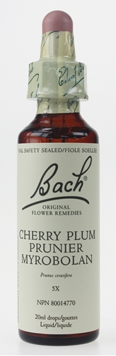 Picture of Bach Bach Cherry Plum Flower Remedy, 20ml