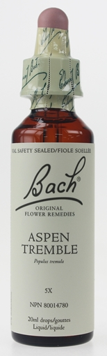 Picture of Bach Bach Aspen Flower Remedy, 20ml