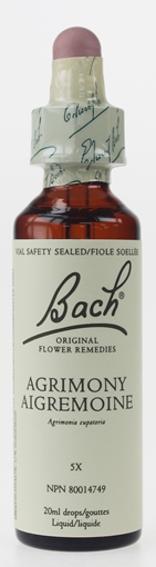 Picture of Bach Bach Agrimony Flower Remedy, 20ml