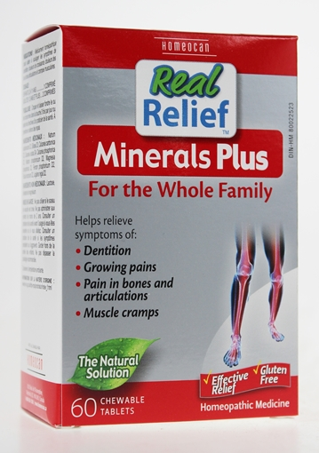 Picture of Homeocan Homeocan Real Relief Minerals Plus, 60 Tablets