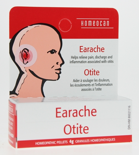 Picture of Homeocan Homeocan Earache Pellets, 4g