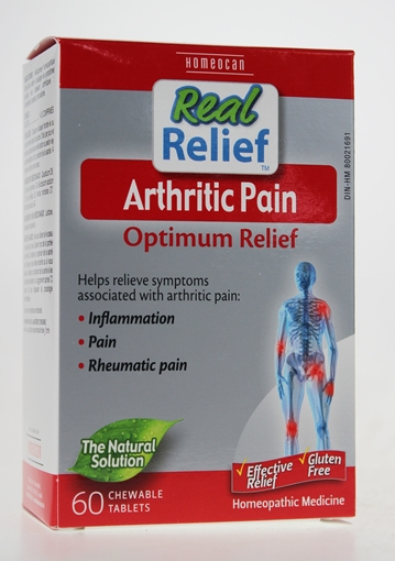 Picture of Homeocan Homeocan Real Relief Arthritic Pain, 60 Tablets