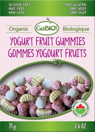 Picture of GoBIO! Organics GoBIO! Organic Yogurt Fruit Gummies 75g