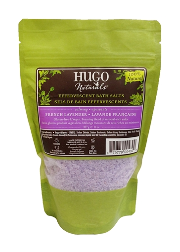 Picture of Hugo Naturals Bath Salts, French Lavender, 397g