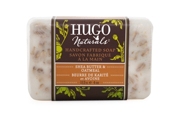 Picture of  Hugo Naturals Bar Soap, Shea Butter & Oatmeal  113g
