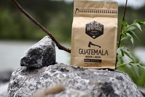 Picture of Calgary Heritage Roasting Company Ltd. Guatemalan whole bean coffee, MED 340 Grams