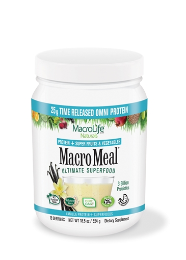 Picture of MacroLife Naturals MacroMeal Omni Vanilla, 15 serving 601g