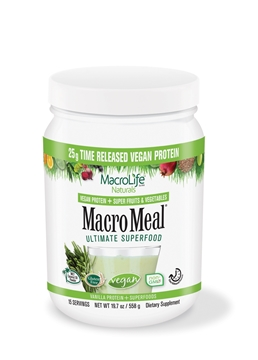Picture of  MacroMeal Vegan Vanilla, 15 serving 615g