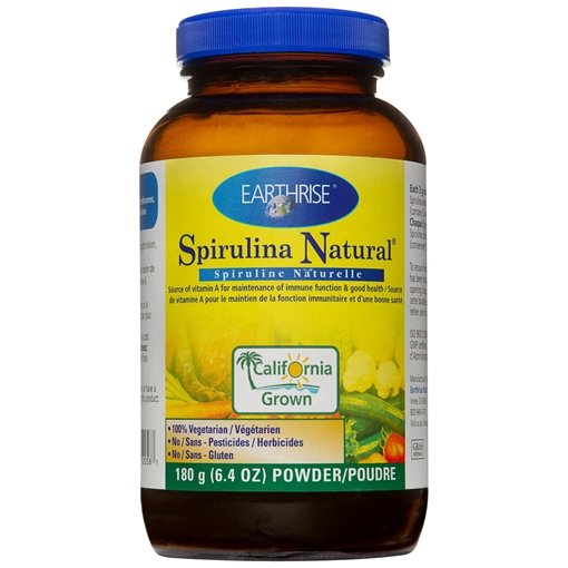 Picture of Earthrise Nutritionals Spirulina Powder, 180g