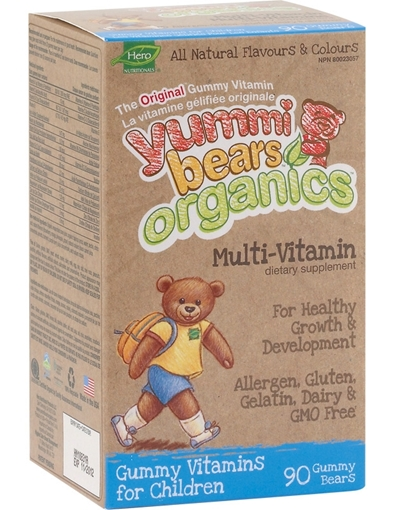 Picture of Hero Nutritionals Organics Multi-Vitamin, 90 count