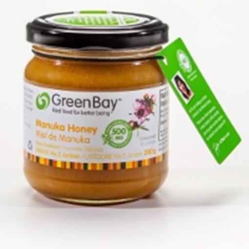 Picture of Green Bay Manuka Honey New Zealand Manuka Honey 250+ MG, 250 g