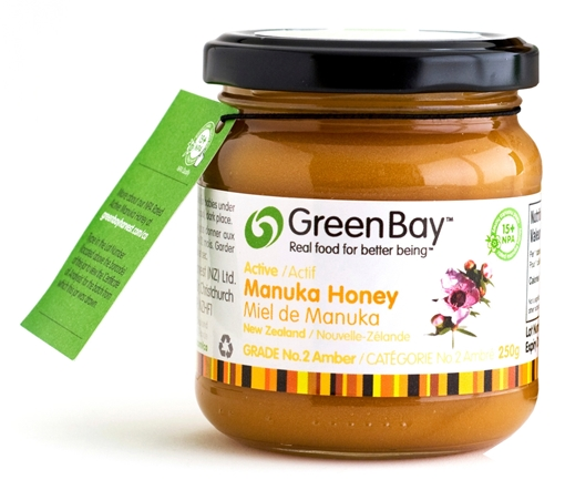Picture of Green Bay Manuka Honey New Zealand Manuka Honey 500+ MG, 250g