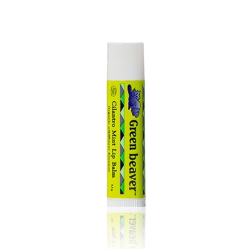 Picture of Green Beaver Co. Green Beaver Lip Balm, Cilantro Mint 4.5g