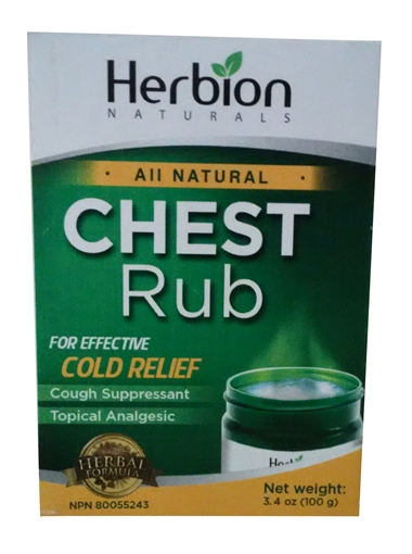 Picture of Herbion Herbion All Natural Chest Rub, 100g