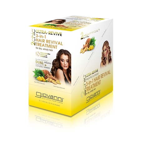 Picture of Giovanni Cosmetics Giovanni Cosmetics Ultra-Revive 3-in-1 Hair Treatment, 49g