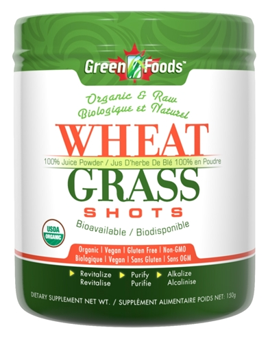 Picture of Green Foods Wheat Grass Shot, 150g
