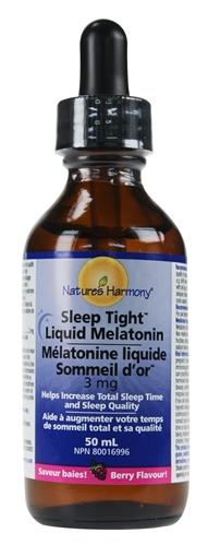 Picture of Nature's Harmony Sleep Tight Melatonin Liquid, 50 ml