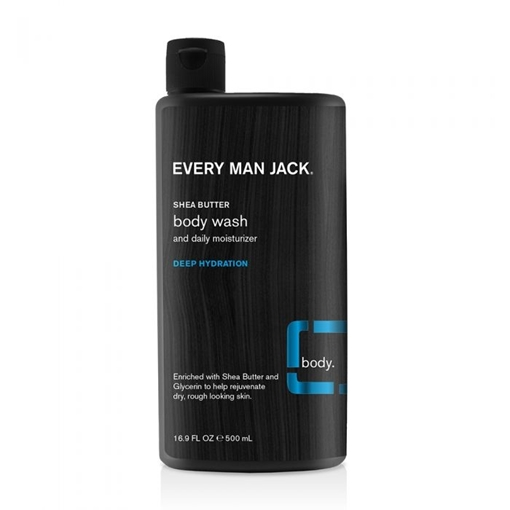 Picture of Every Man Jack Every Man Jack Deep Hydration Body Wash , Shea Butter 500ml