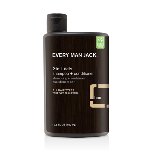 Picture of Every Man Jack Every Man Jack 2-in-1 Shampoo & Conditioner, Sandalwood 400ml