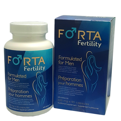 Picture of Forta Fertility Formulated for Men 500mg x 90 caps