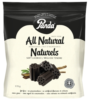 Picture of  Panda Licorice All Natural Black Licorice, 170g