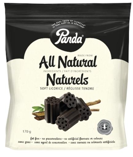 Picture of Panda Licorice Panda Licorice All Natural Black Licorice, 170g