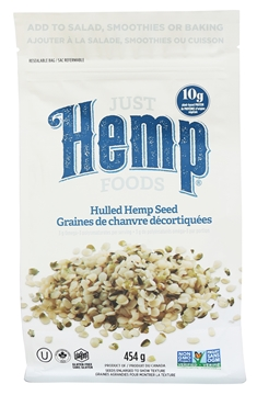 Picture of  Hulled Hemp Seeds, 454g
