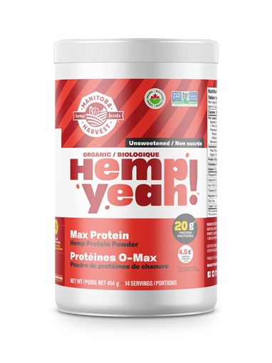 Picture of Manitoba Harvest Hemp Yeah! Organic Max Protein, Unsweetened 454g