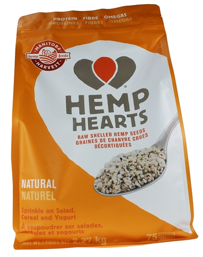 Picture of Manitoba Harvest Hemp Hearts (Raw Shelled Hemp Seed), 2.27kg