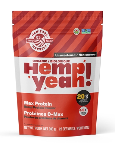 Picture of Manitoba Harvest Hemp Yeah! Organic Max Protein, Unsweetened 908g