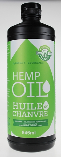 Picture of Manitoba Harvest Hemp Seed Oil Cold Pressed, 946ml