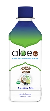 Picture of  Lily of the Desert Aloe H2O with Coconut, Blueberry & Lime, 500ml