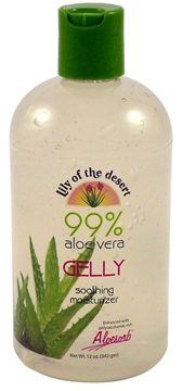 Picture of  Aloe Vera Gelly 99%  Cert Organic, 12oz