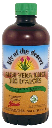 Picture of Lily Of The Desert Lily of the Desert Aloe Vera Juice Whole Leaf, 946ml