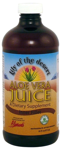 Picture of Lily Of The Desert Lily of the Desert Aloe Vera Juice, 473ml
