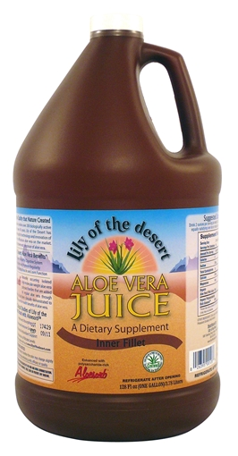 Picture of Lily Of The Desert Aloe Vera Juice, 3.8L