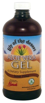 Picture of  Aloe Vera Gel - BPA Free Plastic 16oz/473ml