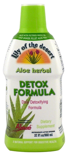 Picture of Lily Of The Desert Lily Of The Desert Aloe Herbal Detox Formula, 960ml