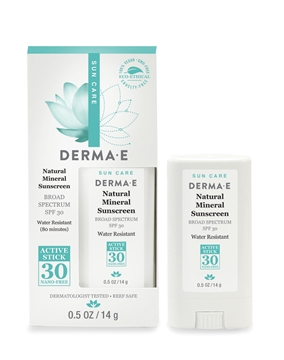 Picture of  Derma E Natural Sunscreen SPF30 Stick, 14g