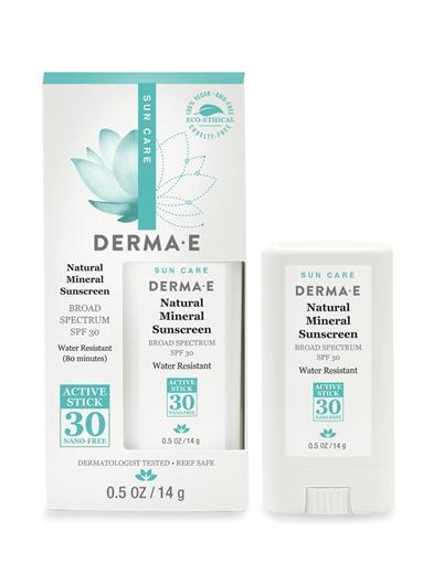 Picture of DERMA E Derma E Natural Sunscreen SPF30 Stick, 14g
