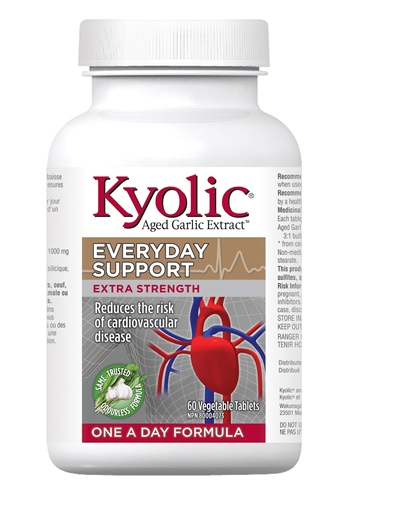 Picture of Kyolic® Extra Strength 1000 mg One A Day, 60 tablets