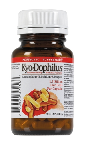 Picture of Kyolic® Kyolic Kyo-Dophilus 3 Strain 1.5 Billion, 90 capsules