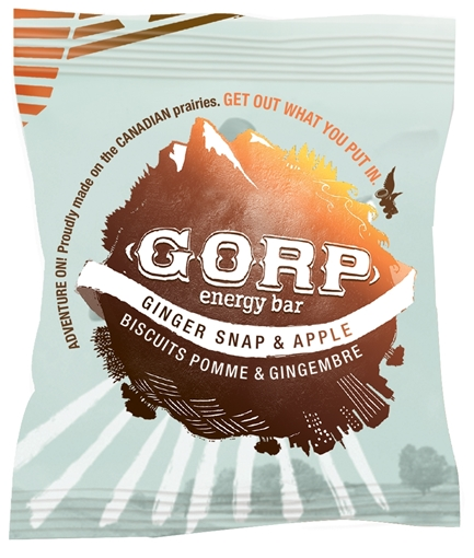 Picture of GORP Clean Energy Bars Ginger Snap & Apple 12x65g