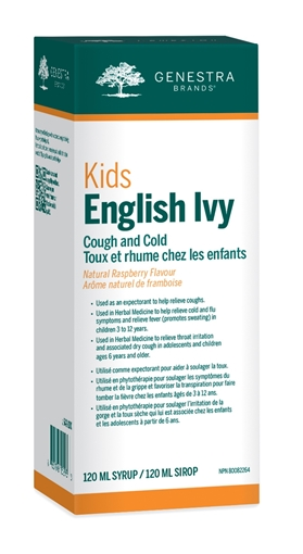 Picture of Genestra Brands Kids English Ivy Cough & Cold, 120 ml